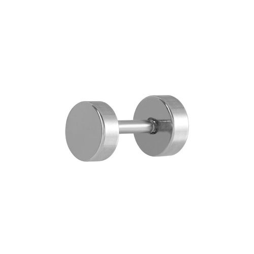 Surgical Steel Fake Plug with Plain Disc 16 GA
